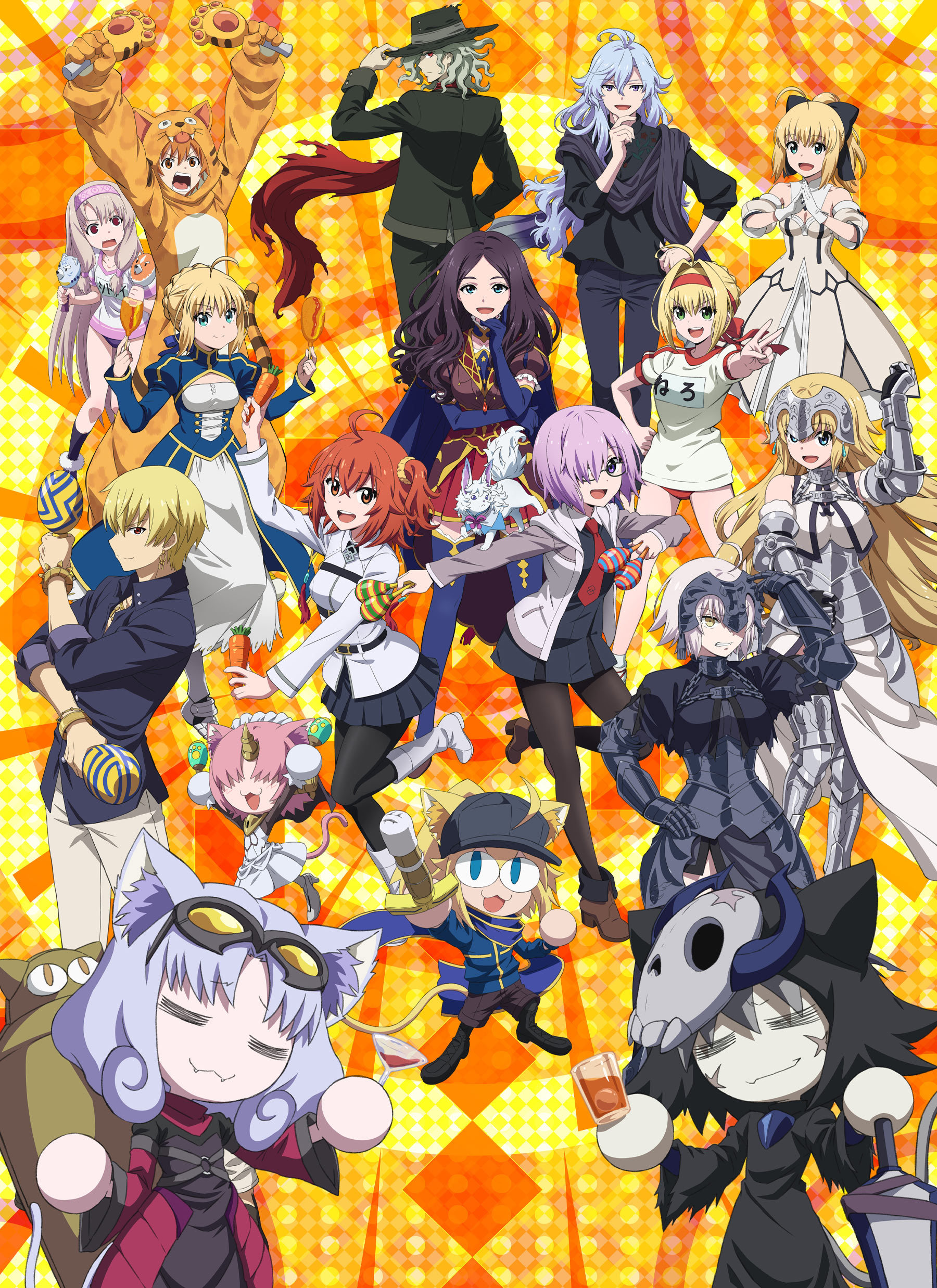 OVA动画《Fate/Grand Carnival》今天6月2日发售,片头曲影像公开-