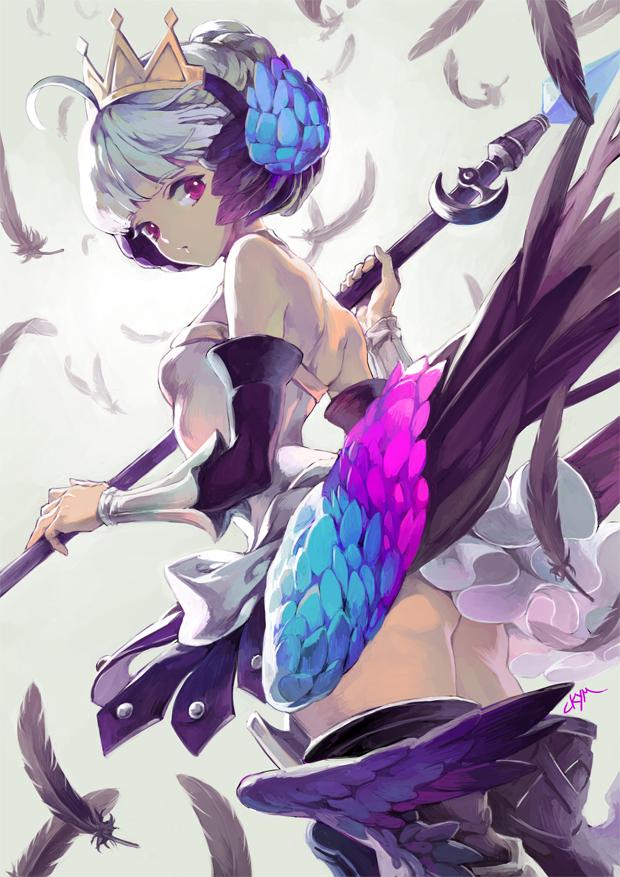 【P站画师】韩国画师CKYM的插画作品