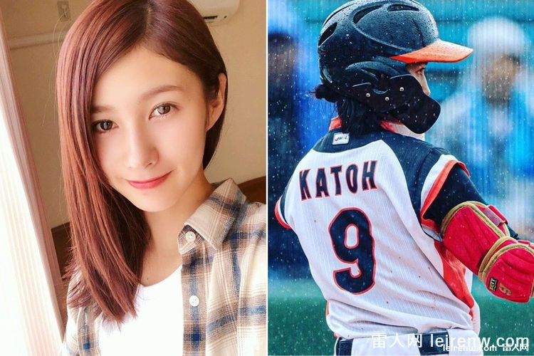 【正妹寫真】打球囉~史上最正女子職棒球員加藤優