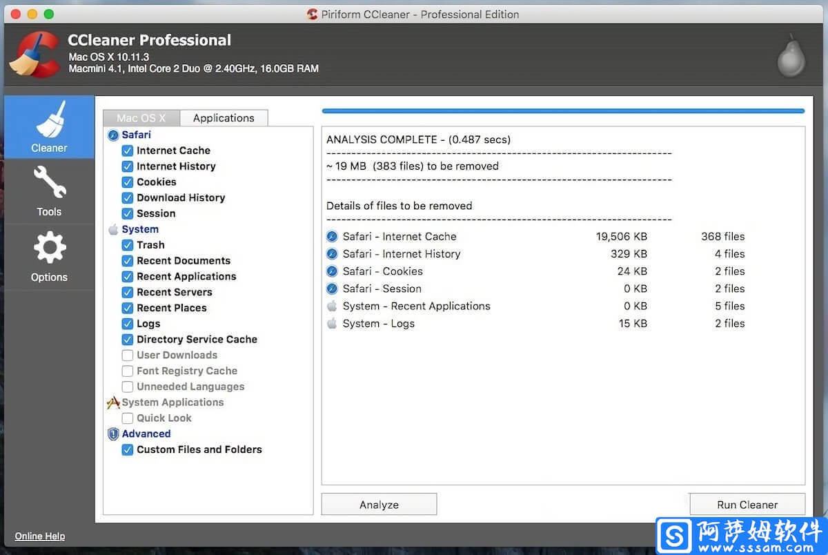 CCleaner Pro for Mac v1.17.603 系统清理软件直装特别版