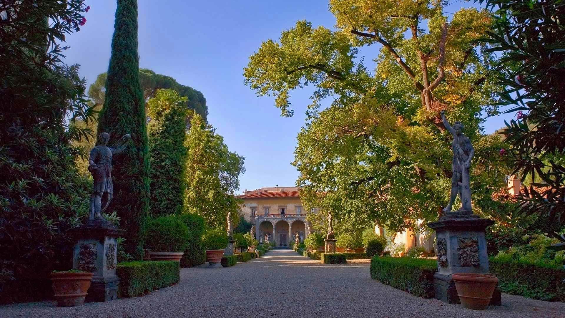 科尼西宫的花园