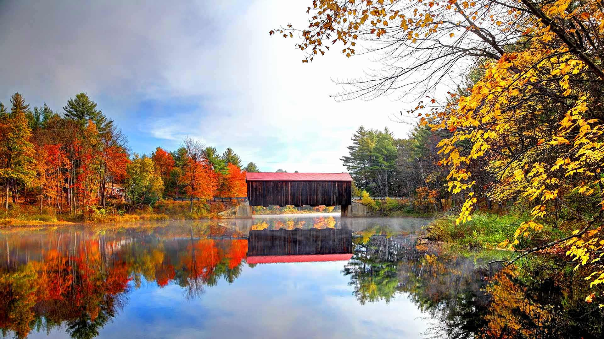 新罕布什尔州的县桥