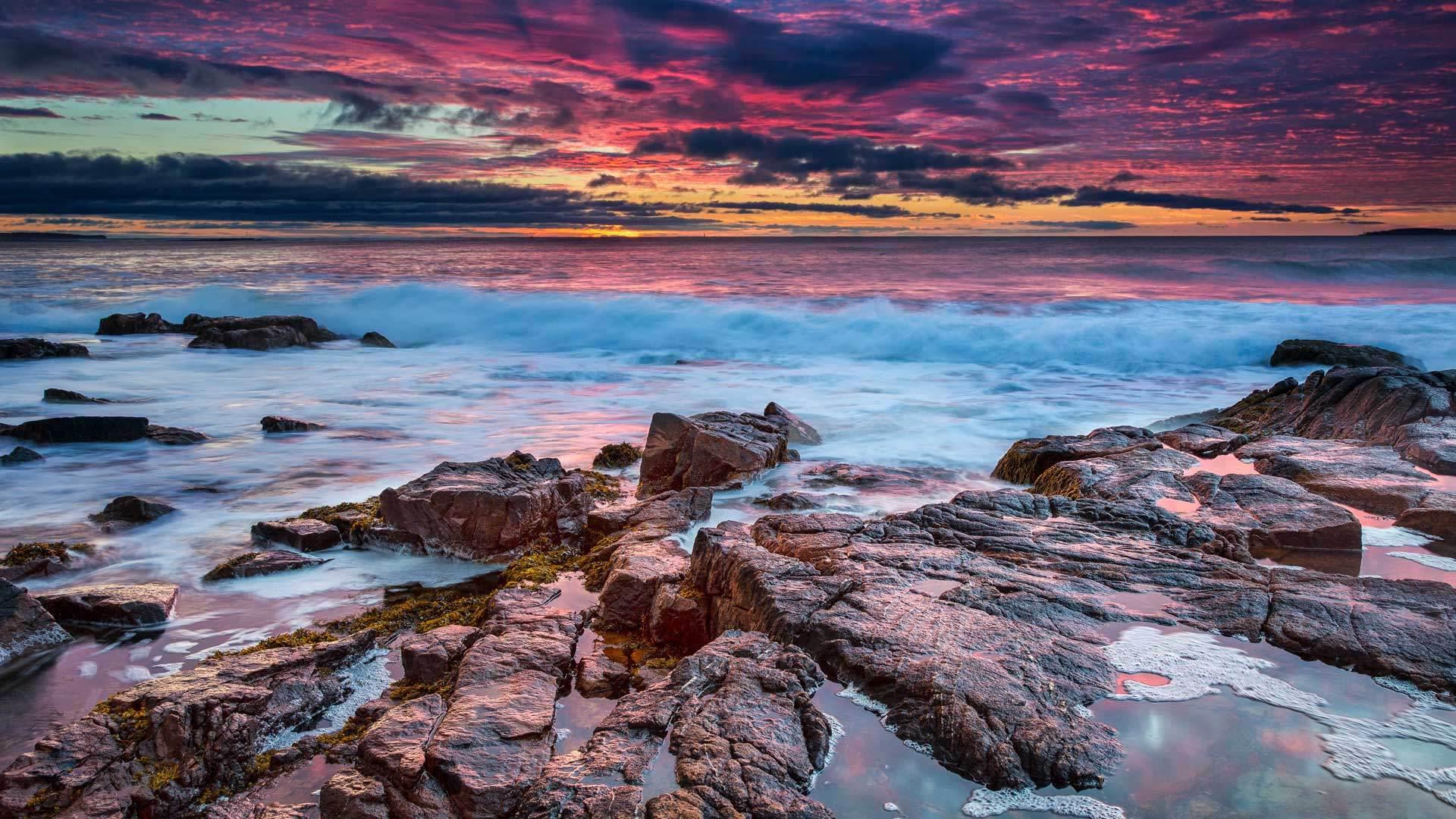 阿卡迪亚国家公园阿卡迪亚国家公园