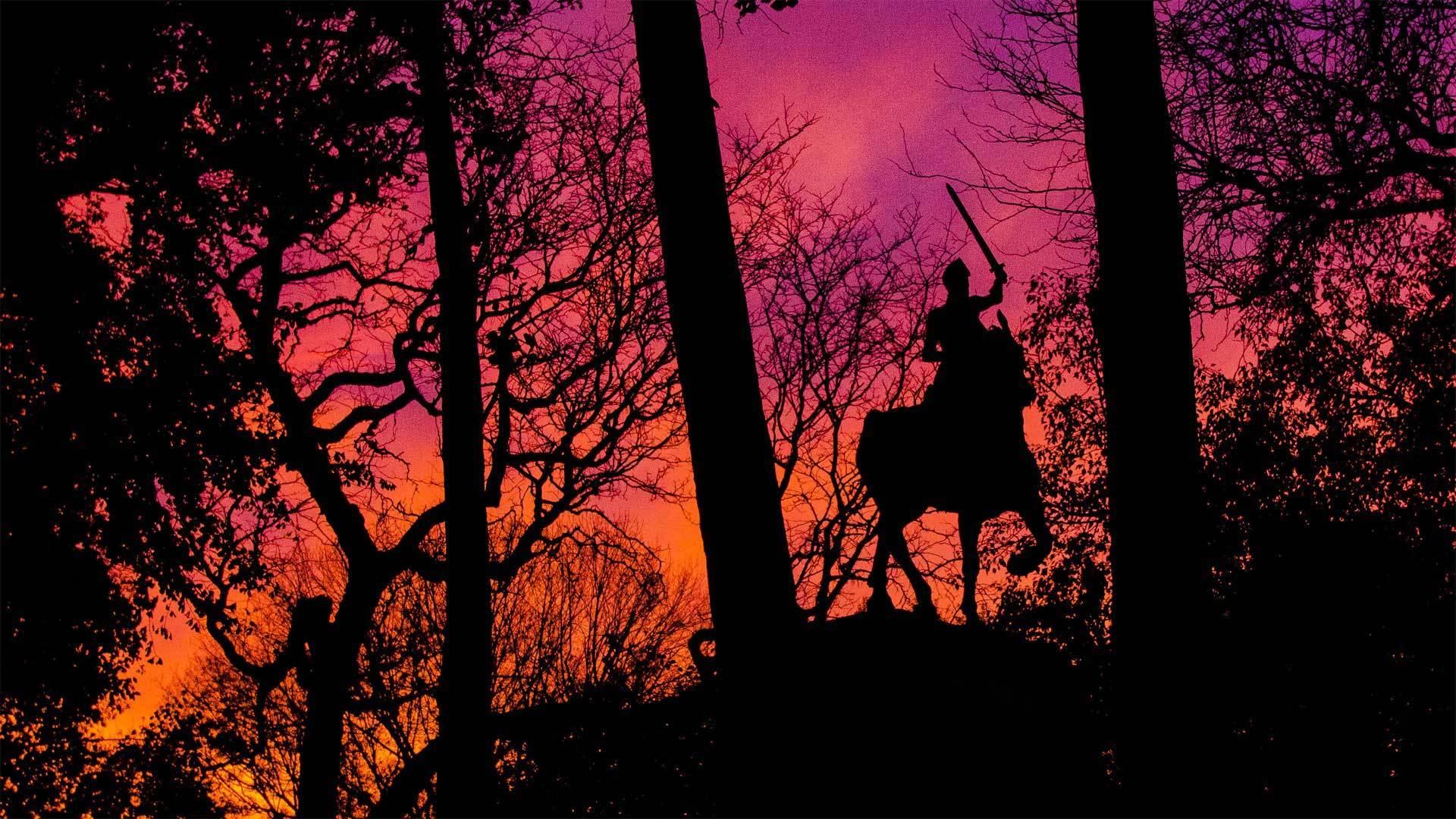 曼哈顿河滨公园中的圣女贞德纪念碑圣女贞德纪念碑