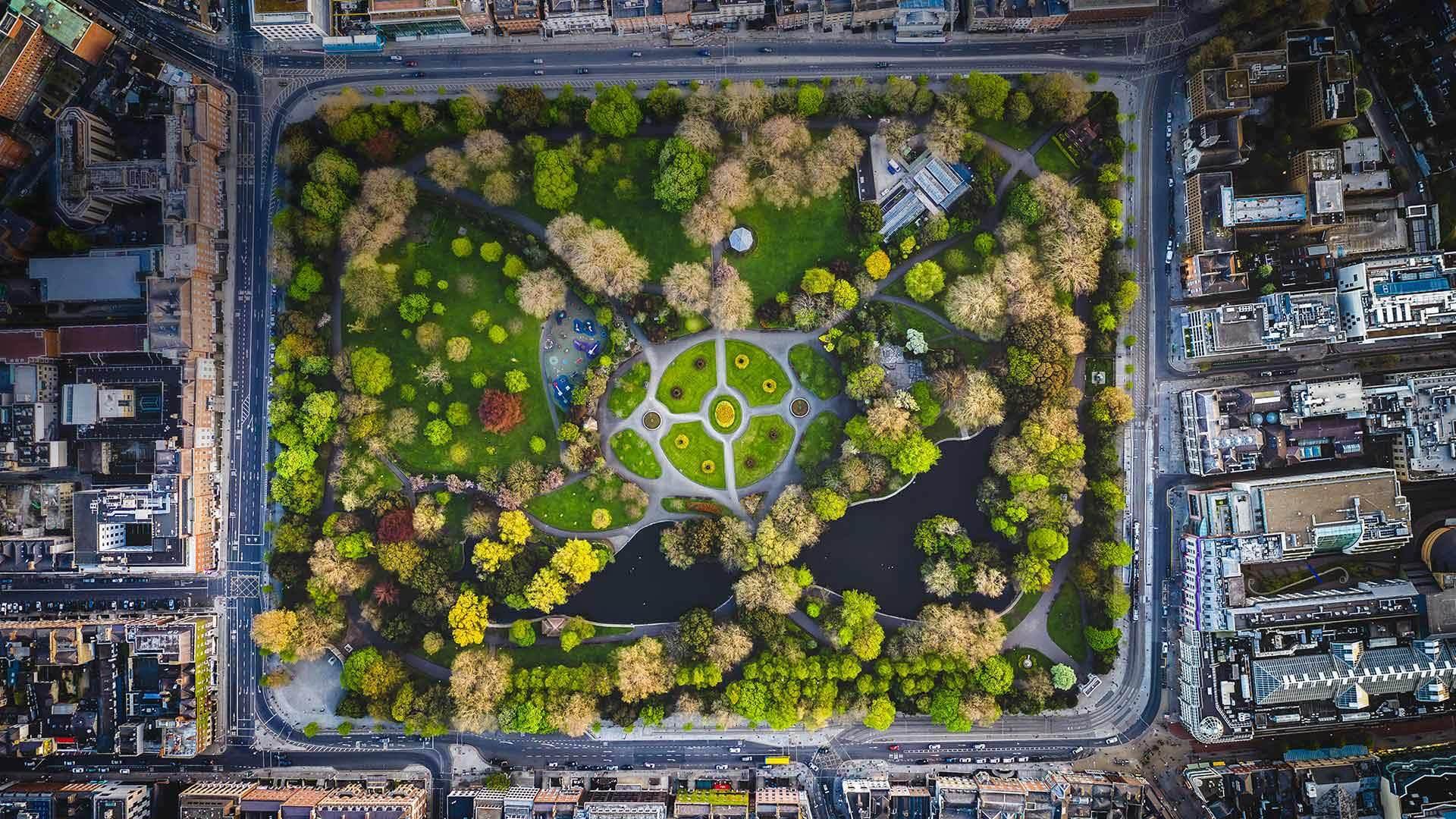 都柏林的圣斯蒂芬绿地圣斯蒂芬绿地