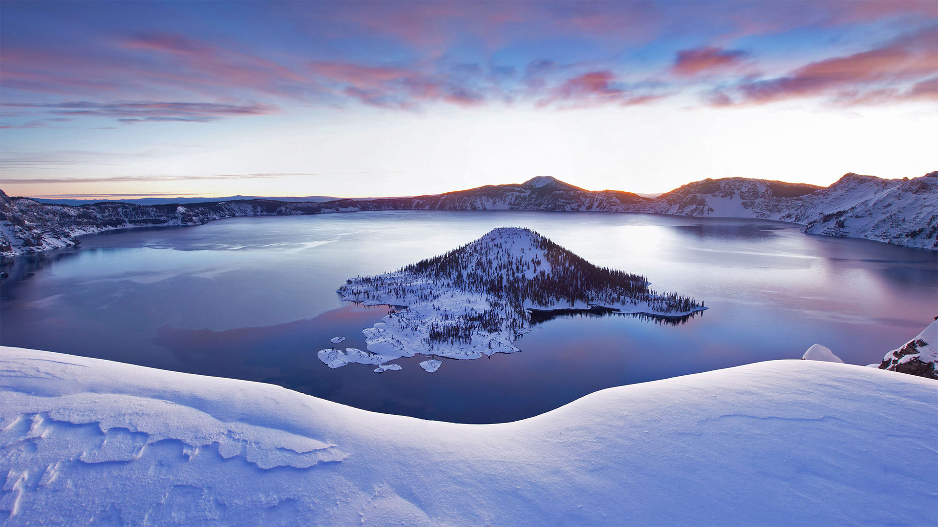 火山口湖火山口湖