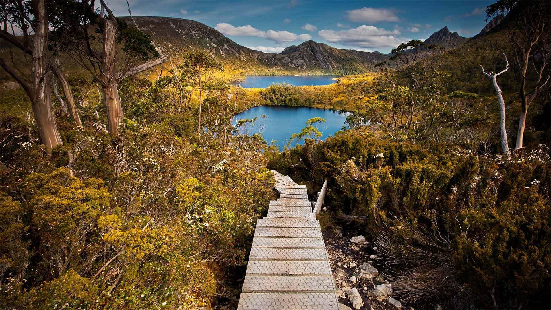 摇篮山-圣克莱尔湖国家公园摇篮山-圣克莱尔湖国家公园