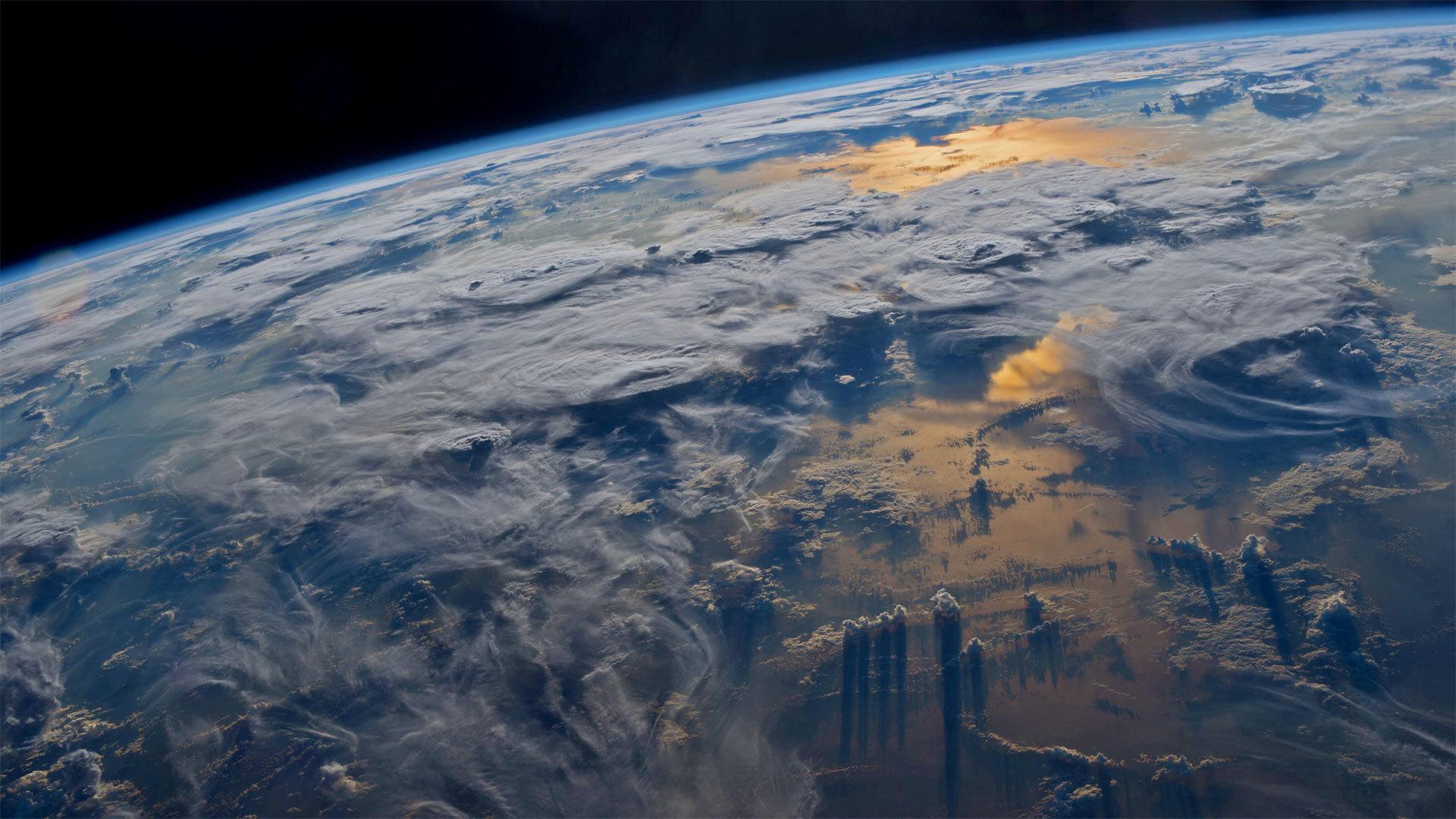 宇航员杰夫·威廉姆斯在国际空间站拍摄到的地球 地球