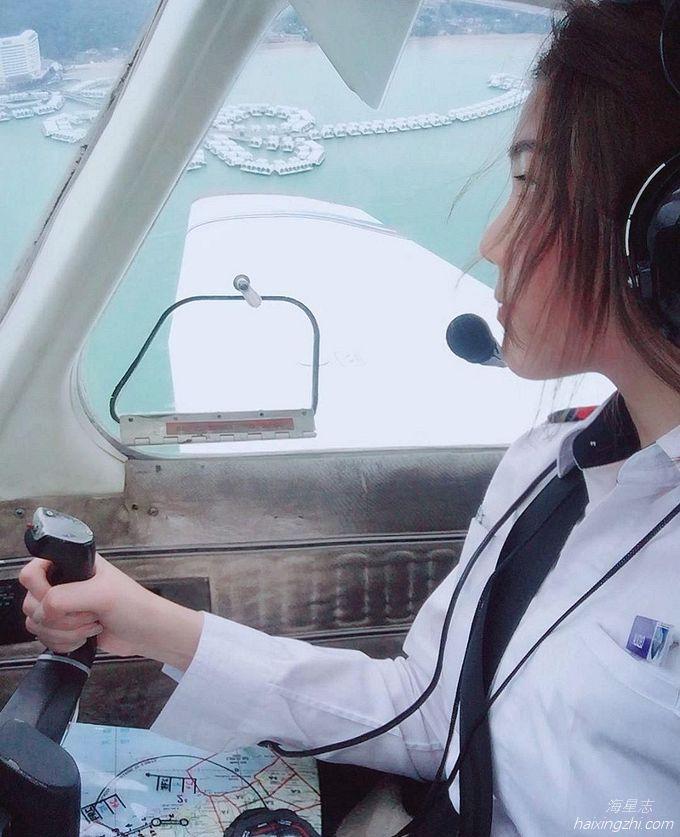 Astro国际华裔小姐的8强佳丽,大马超正女飞机师Cecilia方歆儿_8