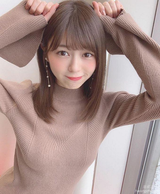 21岁日本模特石崎日梨,天使面孔,靓丽佳人_10