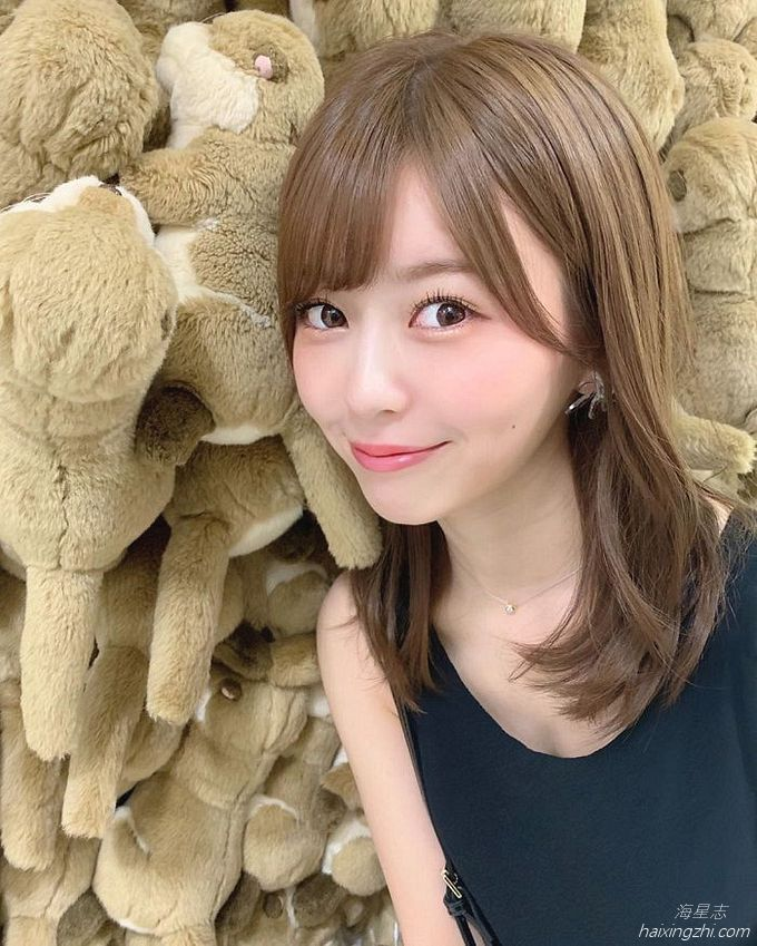 21岁日本模特石崎日梨,天使面孔,靓丽佳人_16