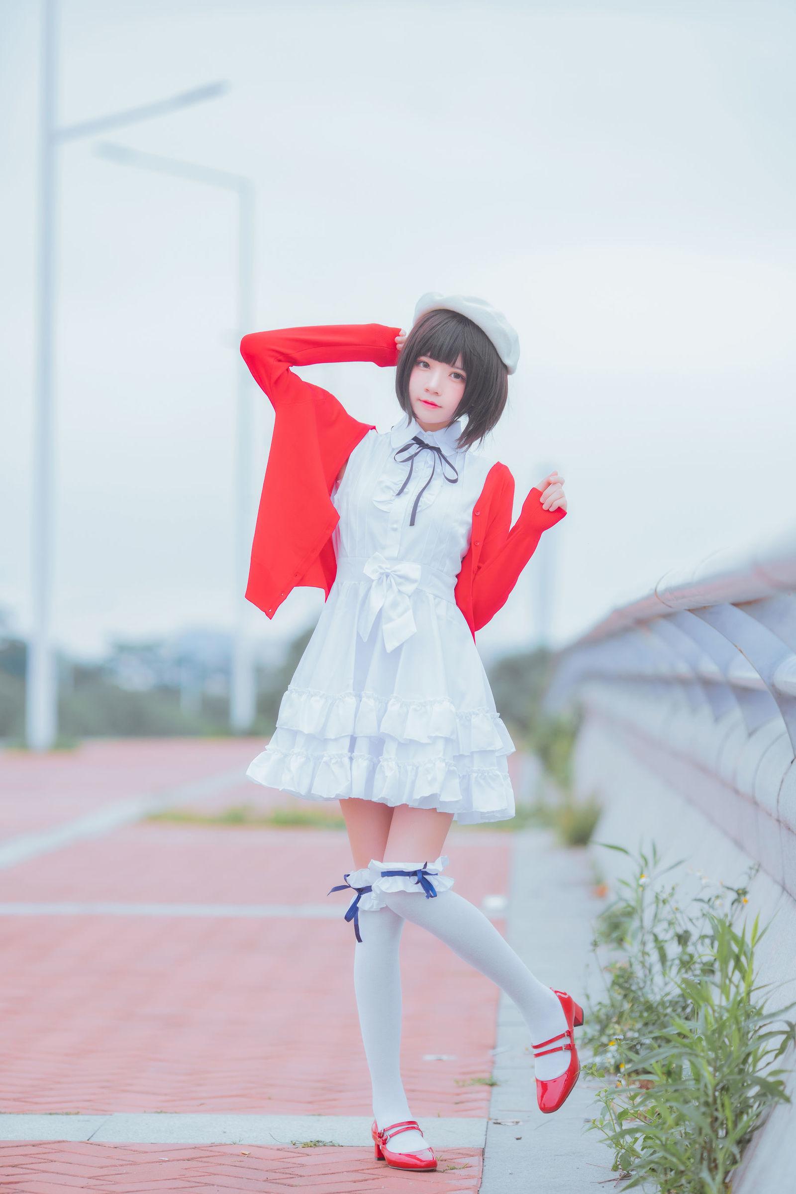加藤惠 桜桃喵 COSPLAY04