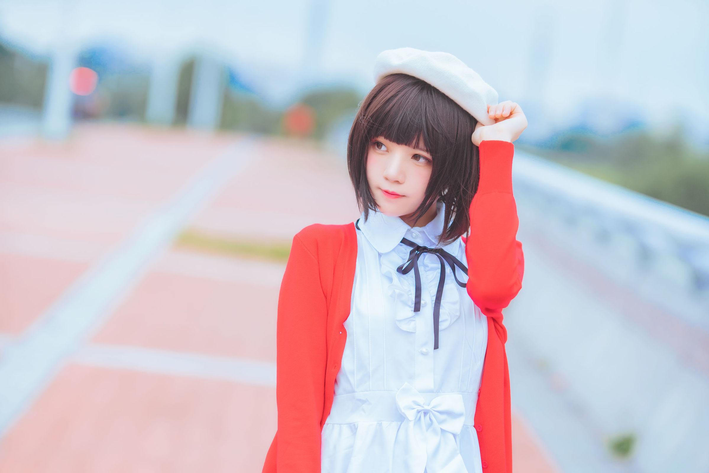 加藤惠 桜桃喵 COSPLAY17