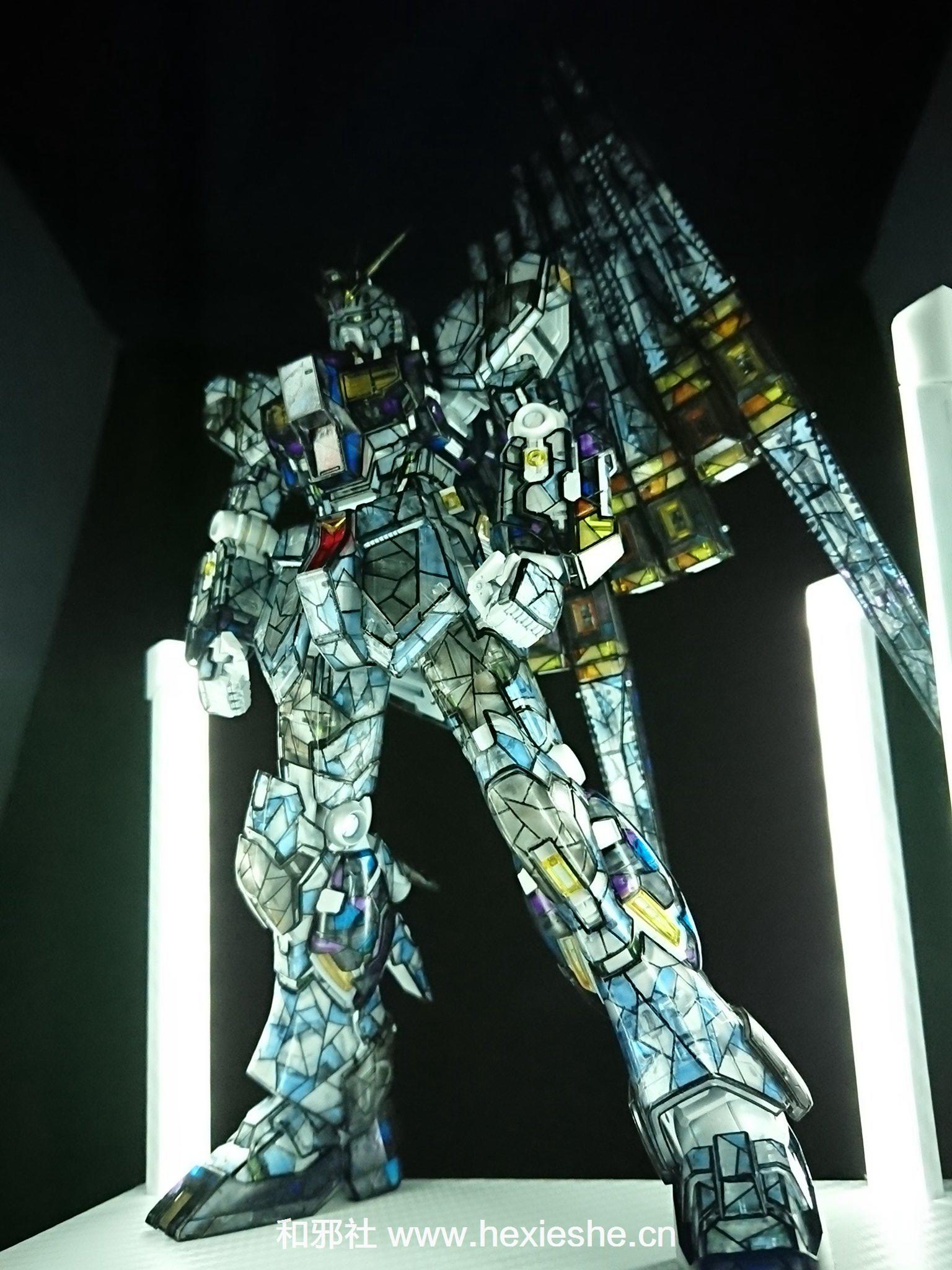彩色玻璃RX-93 νGUNDAM_和邪社09