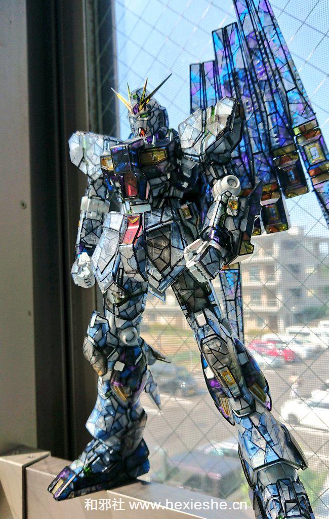 彩色玻璃RX-93 νGUNDAM_和邪社10