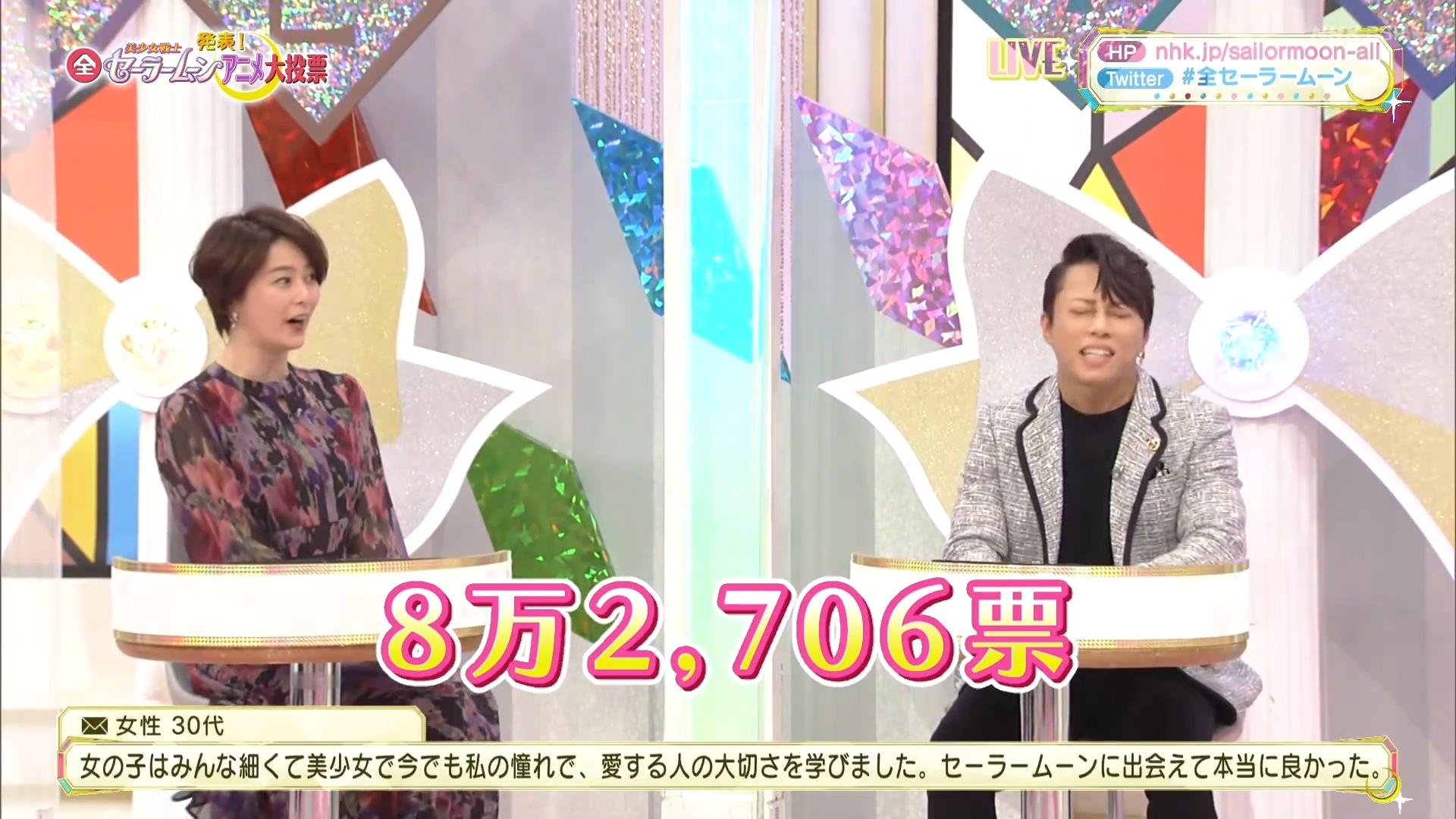 NHK 美少女战士 动画全系列 大投票
