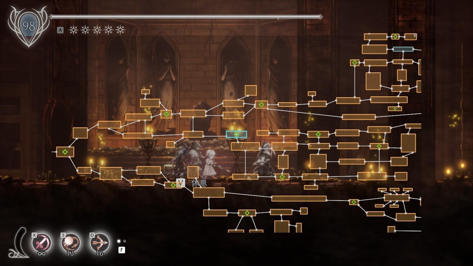 游戏《终结者莉莉:骑士救赎》体验过后关于小地图的一些迭代看法 (5)