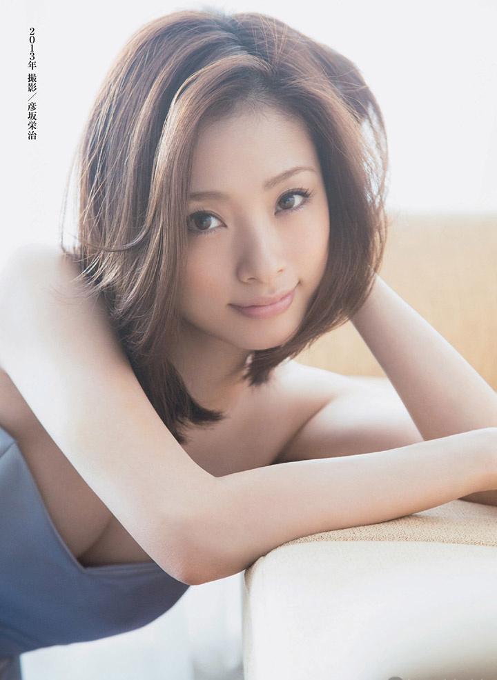 上户彩为《半泽直树2》事隔多年再战写真灿烂笑容完美身段依然 (9)