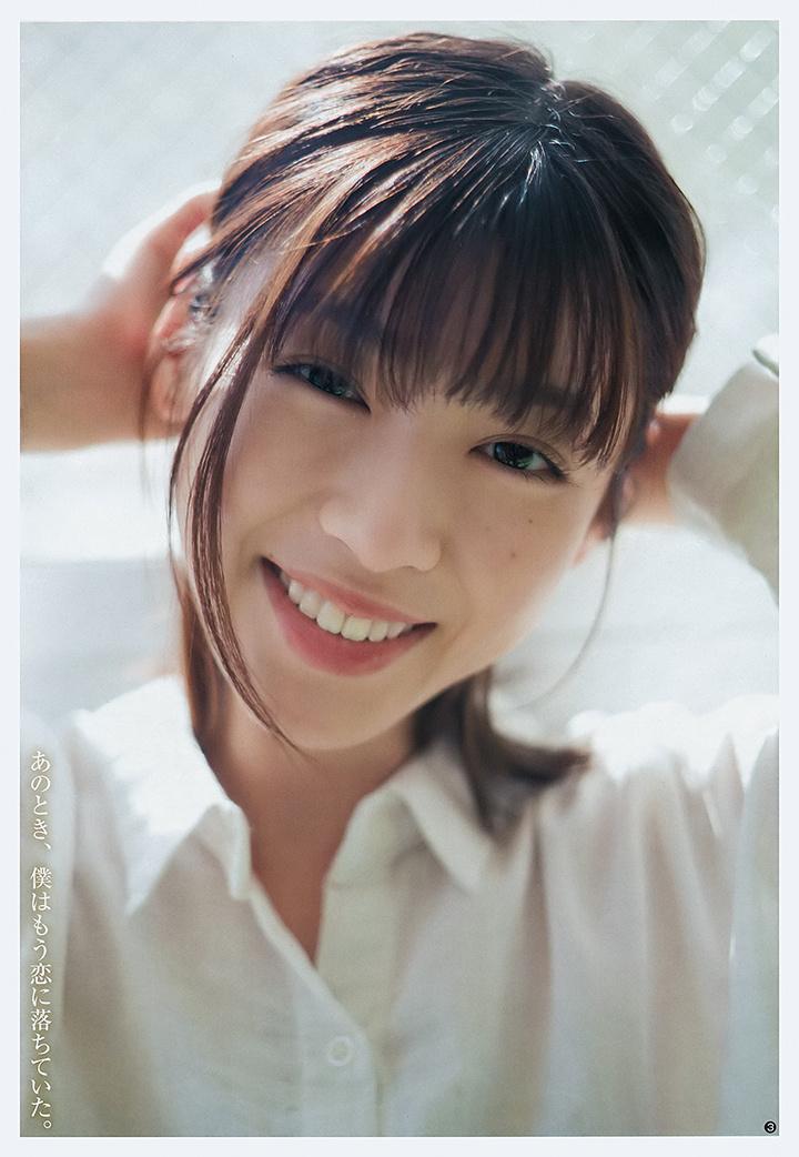甜美怡人疗愈气息十足的纯爱系演员白石圣用自己强大的空灵气场来拍摄写真作品 (21)