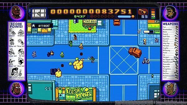 游戏《Retro City Rampage》让重回经典向骨灰级游戏致敬的体验保证有趣 (10)