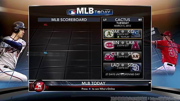 游戏《美国职棒大联盟2K13》(《MLB 2K13》)经典棒球赛持续延烧火热开打 (20)