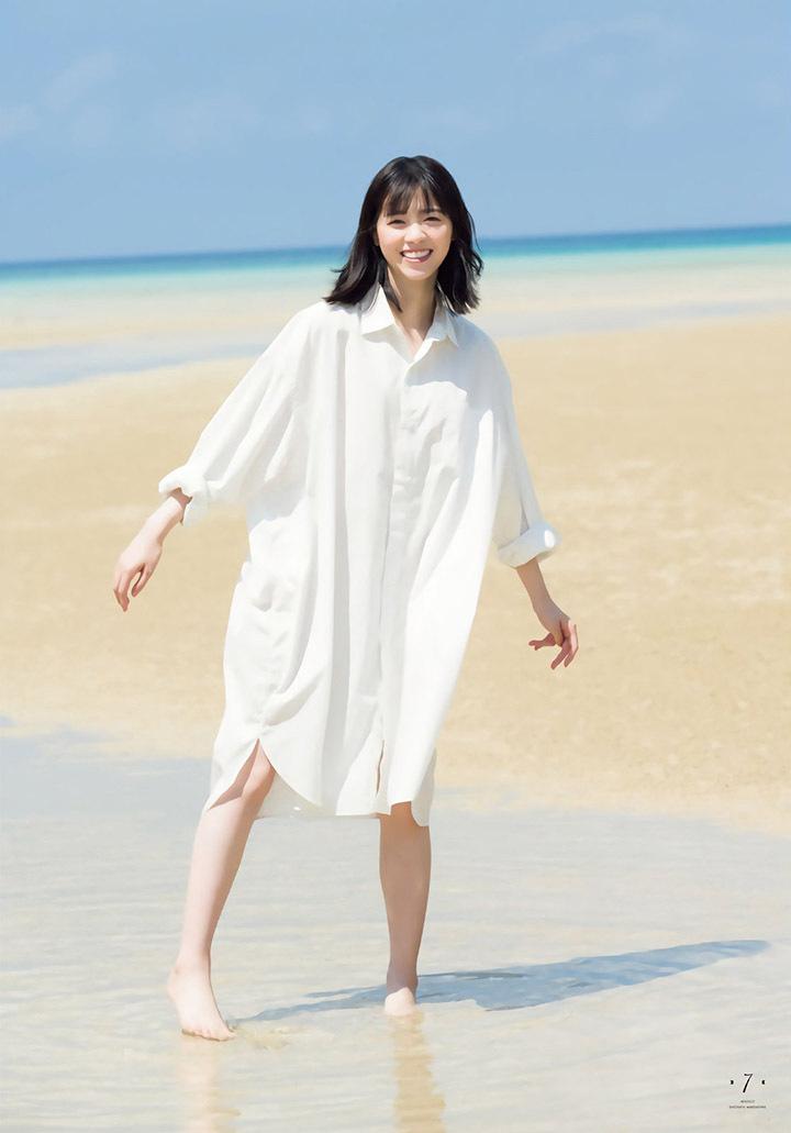 呆萌小可爱西野七濑凭借《轮到你》人气暴涨而登上周刊封面拍摄写真作品 (9)