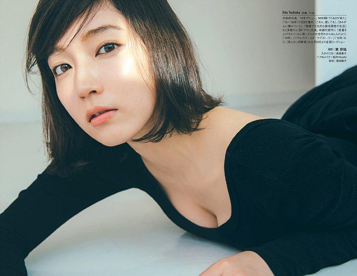 写真女优出身的吉冈里帆每次上映新电影都会拍摄写真作品堆人气 (4)