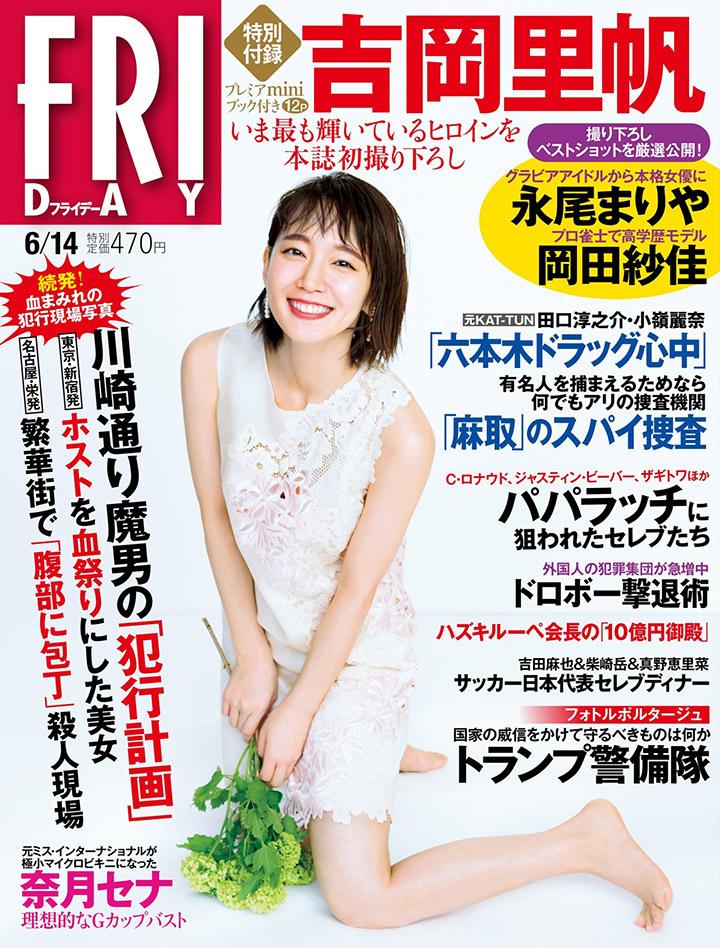 写真女优出身的吉冈里帆每次上映新电影都会拍摄写真作品堆人气 (17)
