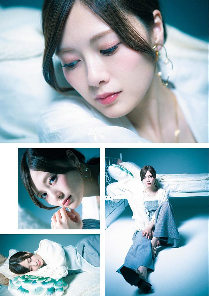 职业模特白石麻衣写真作品登上时尚杂志于国际大牌通力合作 (19)