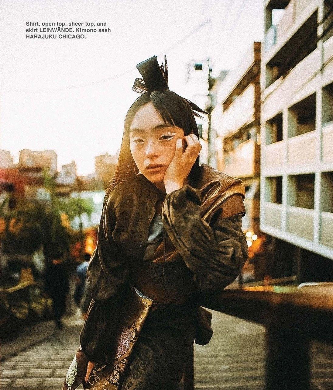 满脸雀斑却依旧很美的混血模特世理奈写真作品 (39)