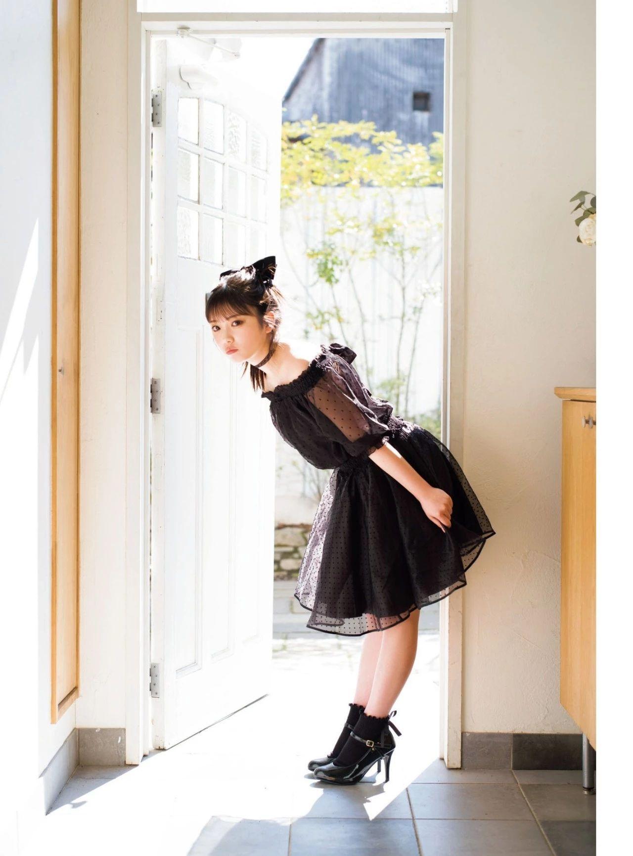 从小美到大的与田祐希《沉默的时间》写真作品 (2)