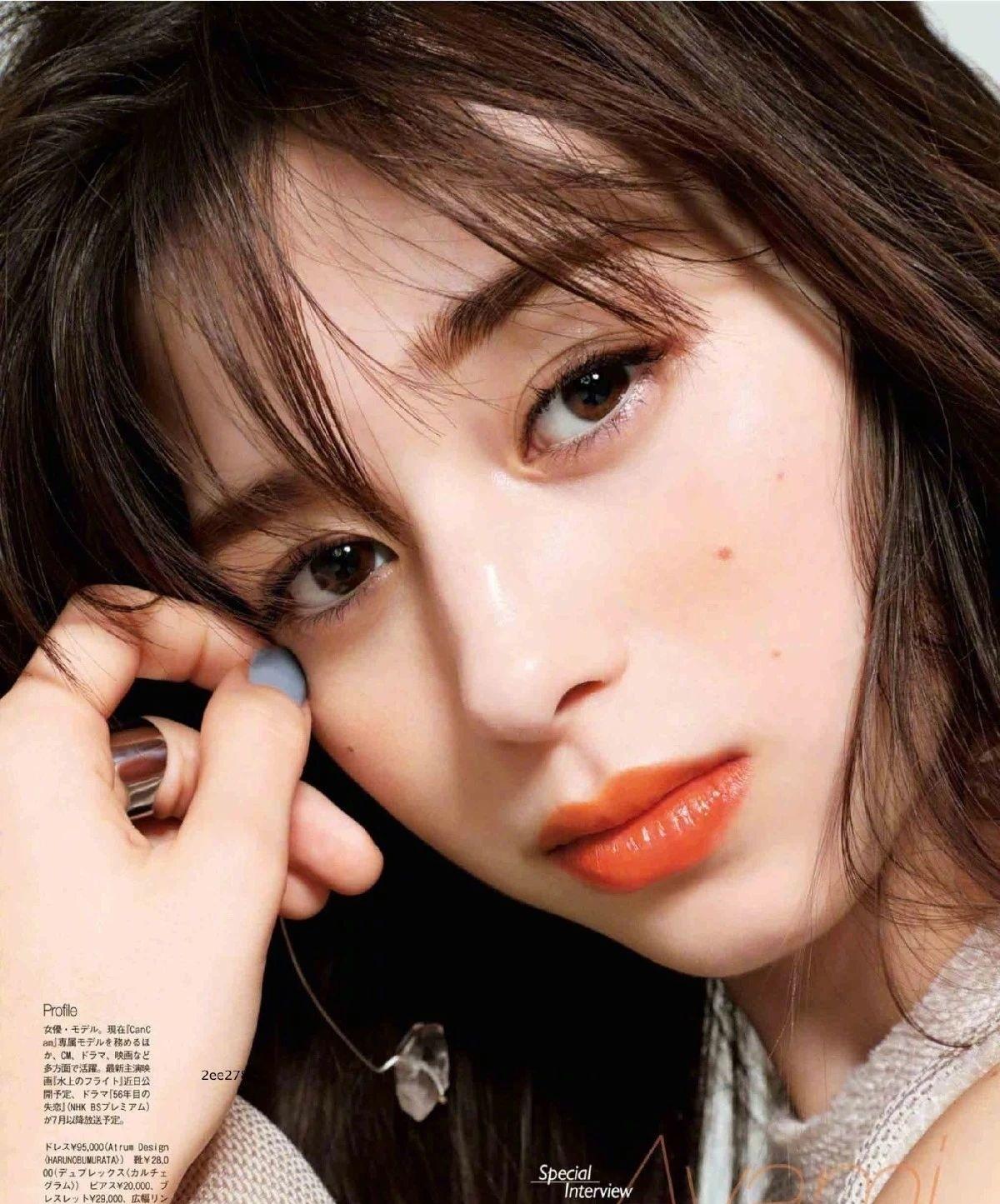 女性最想要的混血颜并且有彩妆种草机之称的中条彩未写真作品 (42)