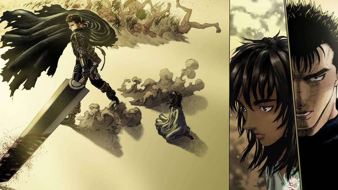 漫画《烙印勇士》大剑黑战士永无止境的复仇剧 (8)
