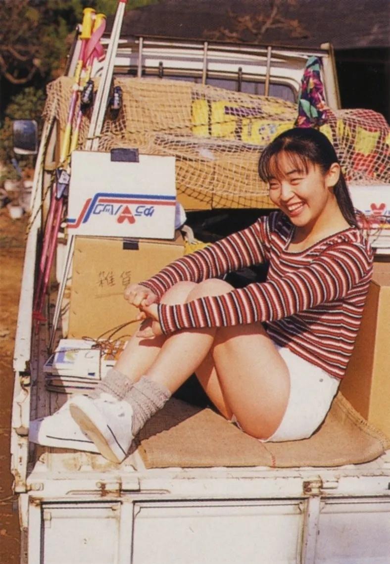 清纯玉女17岁情书中的酒井美纪写真作品 (6)