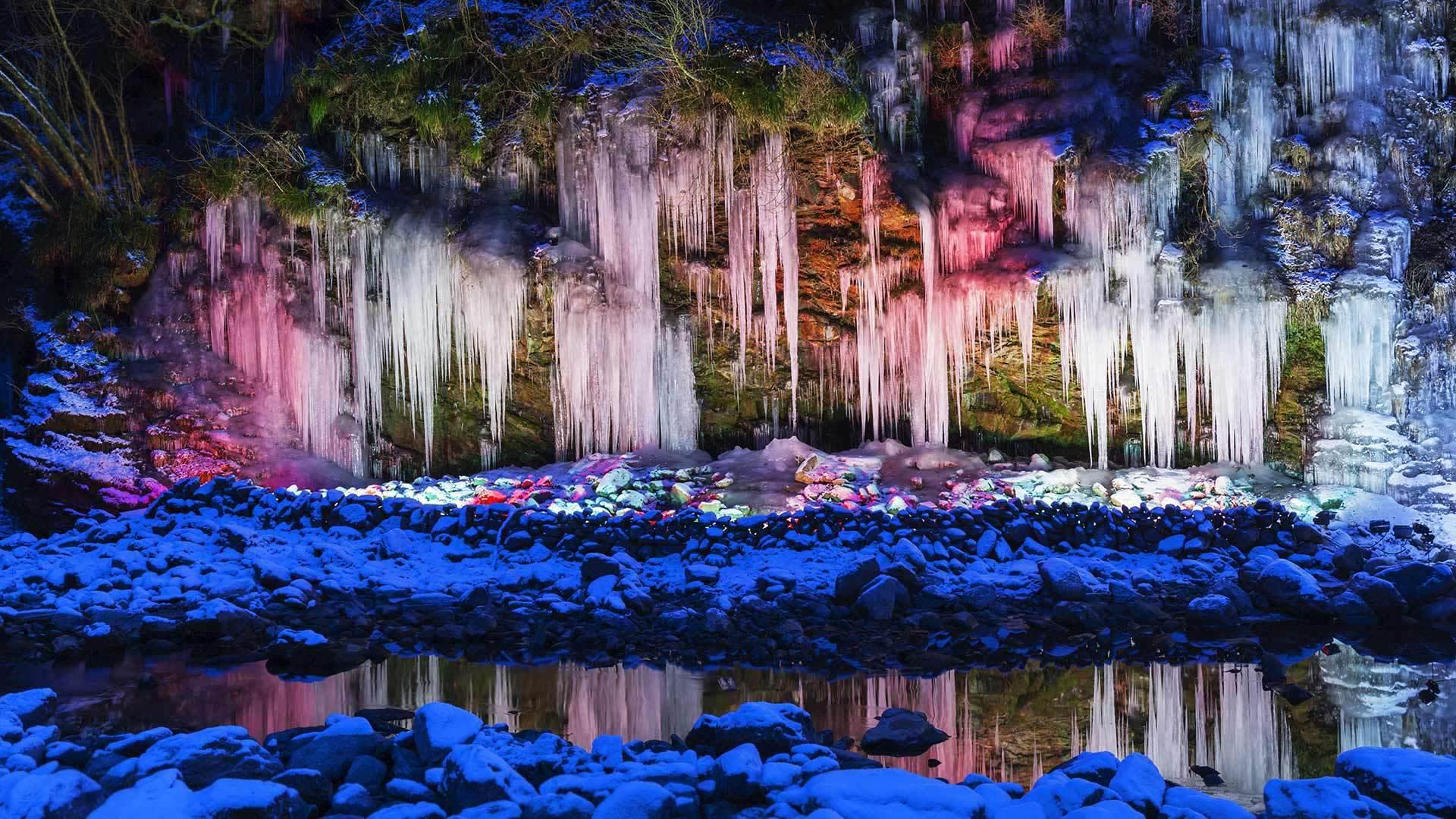 多彩的冰雪仙境