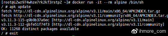 验证Docker CE