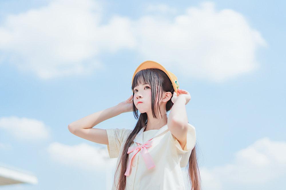 喵糖映画 VOL.256 樱桃喵_户外小黄帽[22P] 22P [1]