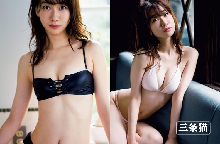 女团akb48成员柏木由纪最新写真图片,纯白内衣挑战性感底线