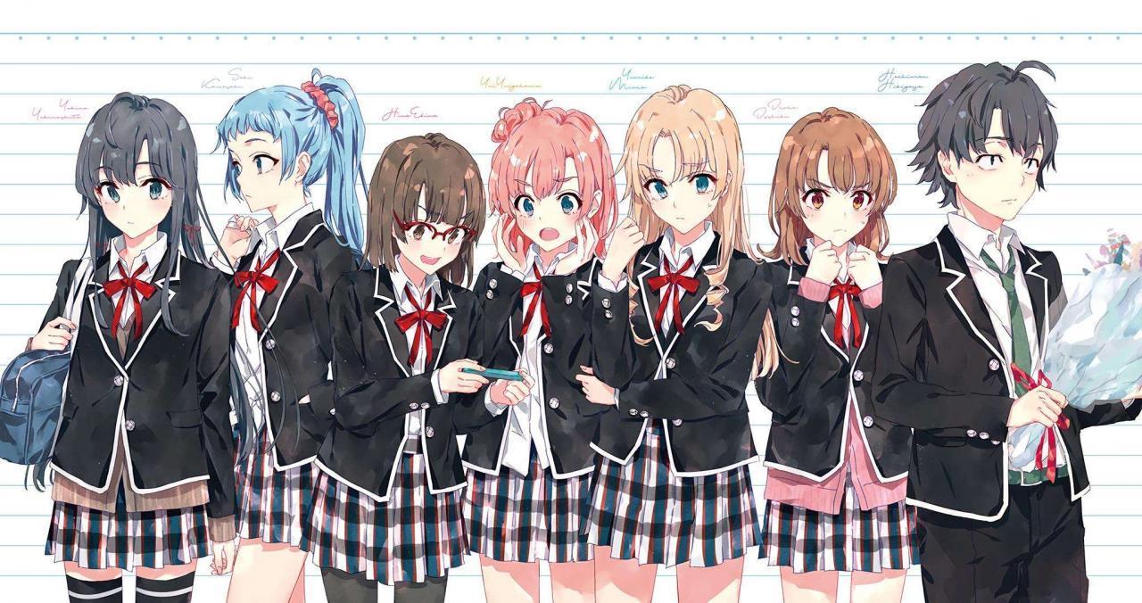 【轻小说下载】《我的青春恋爱物语果然有问题。》全完结-Anime漫趣社