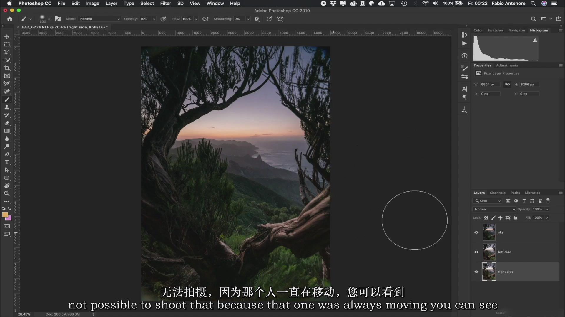摄影教程_Fabio Antenore-超级真实银河系夜景风光摄影及后期附扩展素材-中英字幕 摄影教程 _预览图12