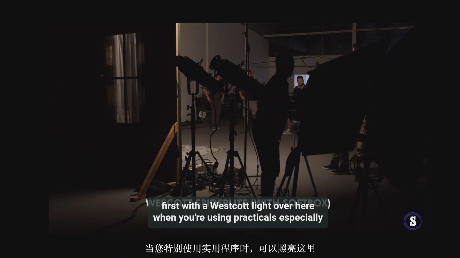 摄影教程_Hurlbut Academy–如何为电影在夜景室内场景布光营造自然外观-中文字幕 摄影教程 _预览图5