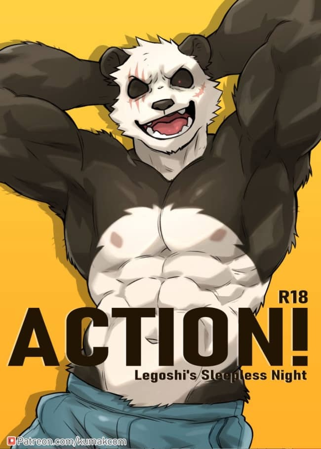 ACTION! – Legoshi's sleepless night – BEASTARS dj