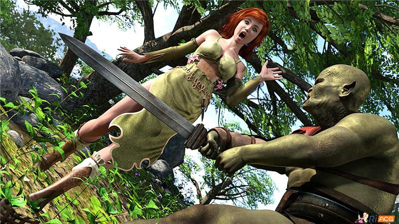 【游戏CG】Alenja's Adventures v0.035【635P/386M】