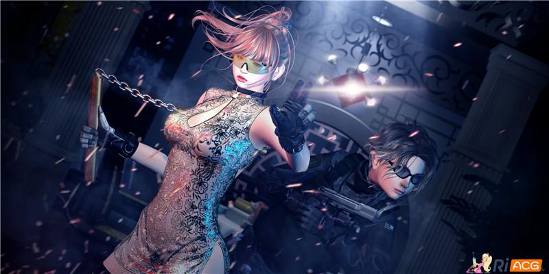 【图集】PONARI大佬:暴力美学!超精美3D作品合集【163P】