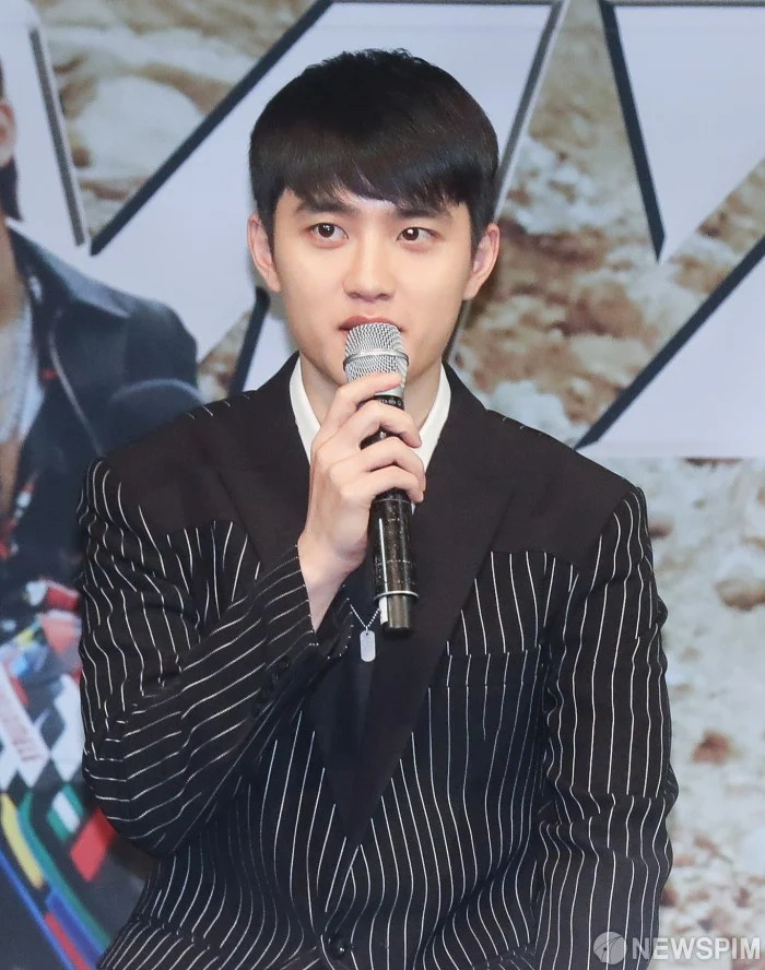EXO新专辑发布会D.O.吻戏成了讨论热点,成员表示吓到了