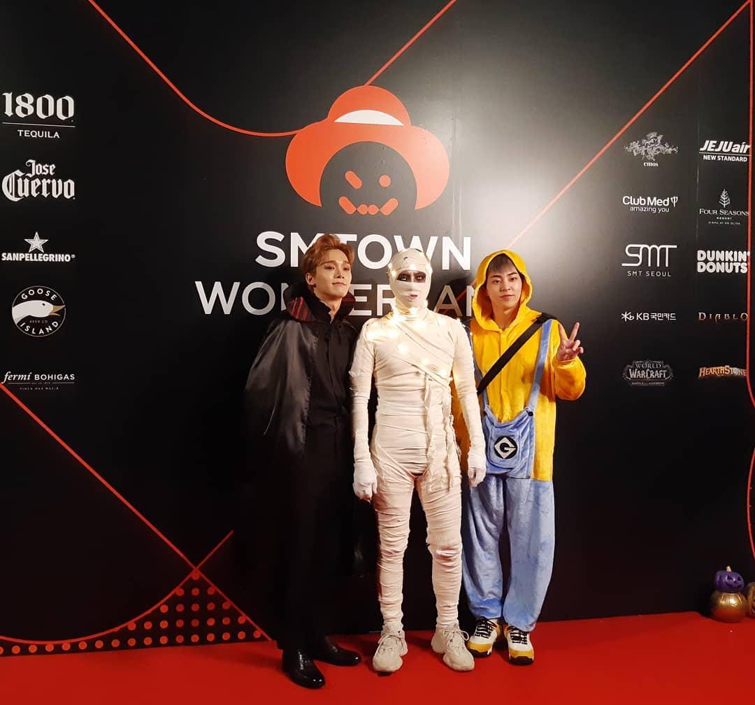 尴尬了!EXO灿烈缺席SM万圣节派对原因曝光,死侍服装卡在海关了插图7