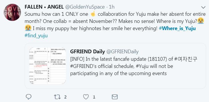 GFRIEND成员将缺席11月活动,粉丝担心会退团希望官方给出解释!插图6