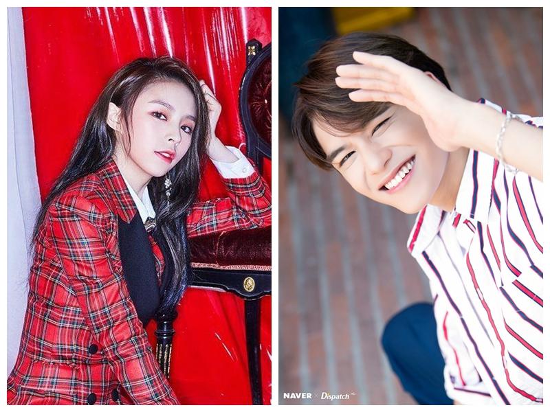 韩团中国籍成员获力捧! CLC庄锭欣、NCT黄旭熙相继发单曲和合作曲插图