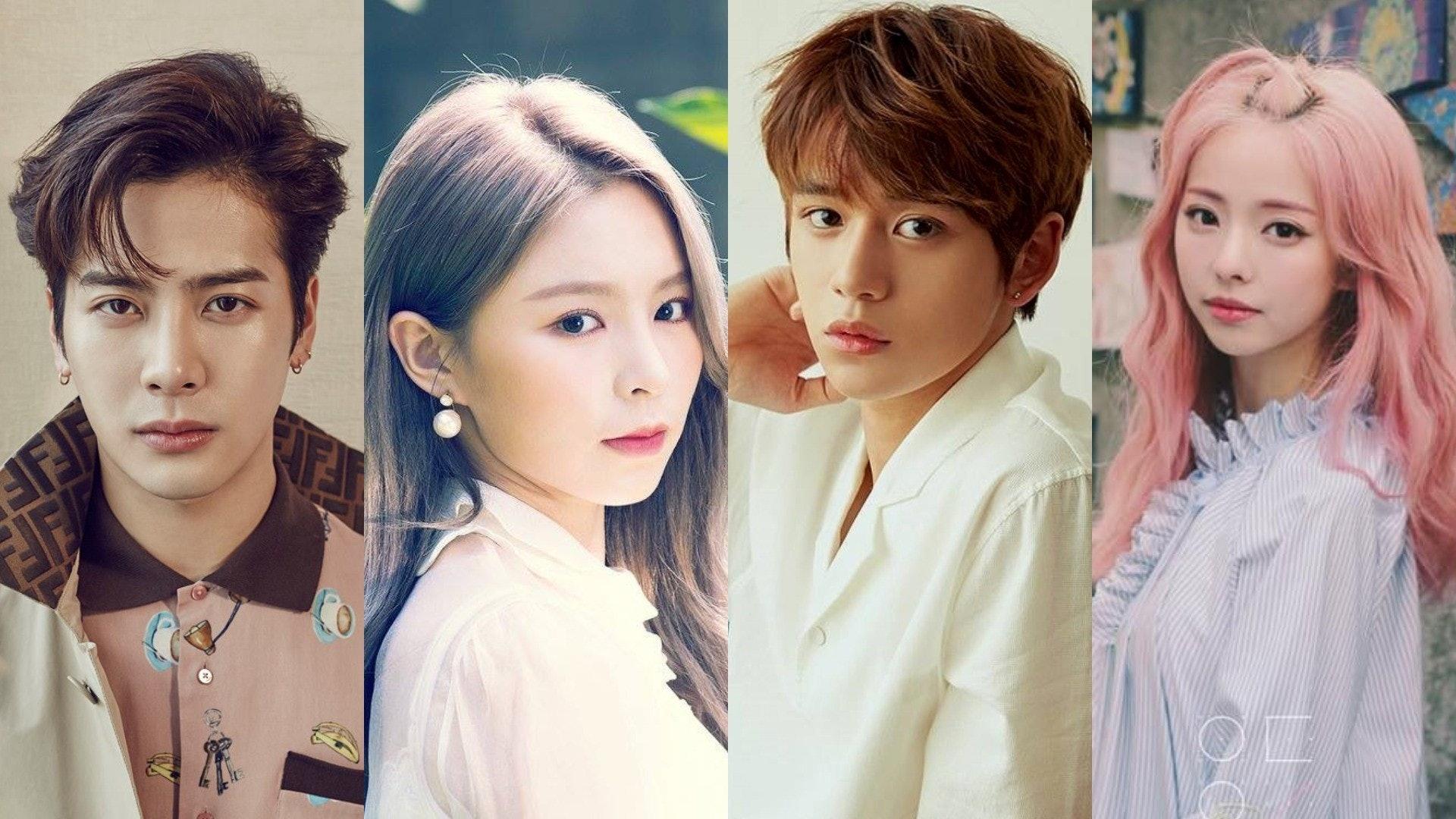 韩团中国籍成员获力捧! CLC庄锭欣、NCT黄旭熙相继发单曲和合作曲插图2