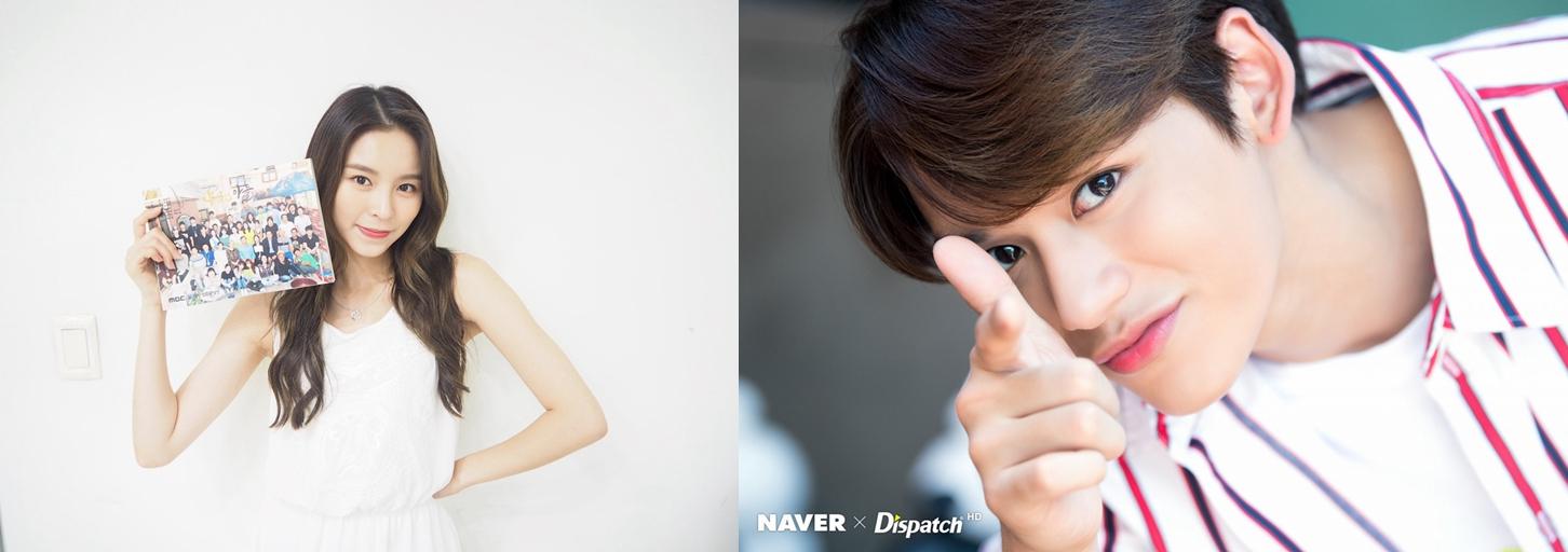 韩团中国籍成员获力捧! CLC庄锭欣、NCT黄旭熙相继发单曲和合作曲插图8